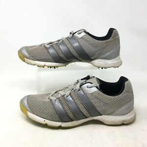 Details about Adidas Climacool Sport Golf Sneakers Low Top Lace Up Mesh Metallic Grey Mens 9.5