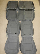 2015-2017 Chevrolet Colorado CREW CAB LT / Z71 Factory leather seat covers