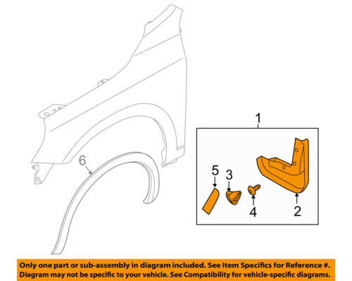 VOLVO OEM 11-16 S60-Mud Flap Splash Guard 31265329