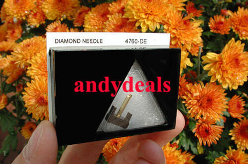 NEW IN BOX ELLIPTICAL DIAMOND REPLACEMENT NEEDLE FOR SHURE N75ED-2 M75ED-2   *