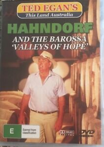 "HAHNDORF And the Barossa ""Valleys of Hope"" Ted Egan DVD"