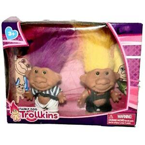 Fairly-Odd-Trollkins-Doll-2-Figures-Set-New-In-Box-Age-3-Troll