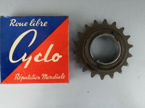 """Pignon roue libre vélo 18 dents bmx vtt 1//2 x 1//8/"""" fixie vintage nos neuve old"""