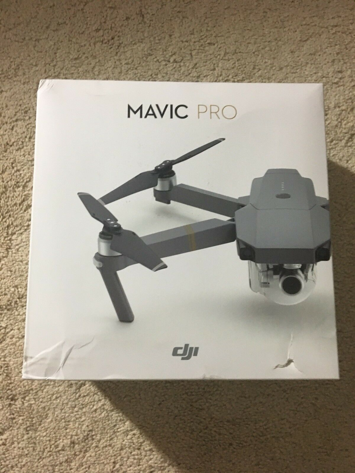 DJI - Mavic Pro Quadcopter with Remote Controller Gris