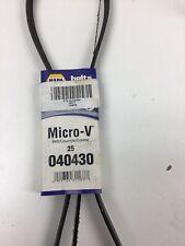 Rubber D/&D PowerDrive 25-9630 NAPA Automotive Replacement Belt