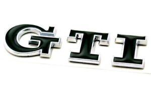 Volkswagon-VW-GTI-Rear-Trunk-Badge-in-BLACK-BRAND-NEW