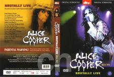 ALICE COOPER - Brutally Live (2000) DVD NEW