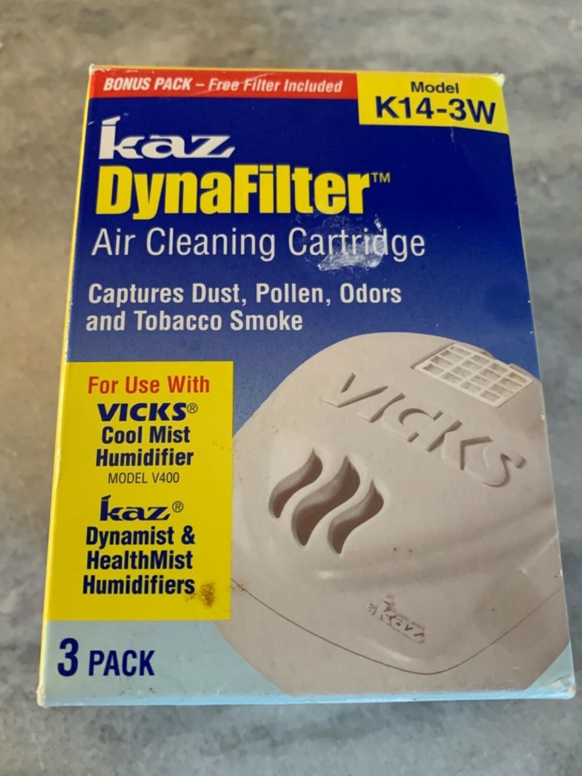 MODEL K14-3W Brand New 4 PROTEC DYNAFILTER HUMIDIFIER REPLACEMENT FILTER