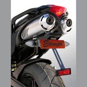 Support-de-plaque-eclairage-ERMAX-Yamaha-FZ6-FZS-600-FAZER-S2-2004-2010-Peint