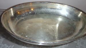 vintage english silver mfg corp silver plate oval dish bowl ebay. Black Bedroom Furniture Sets. Home Design Ideas