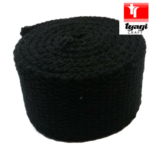 DIY Materials 50mm Heavy Duty Strong Thick Cotton Canvas webbing Strap Twill Belt BLUE X 2Yard