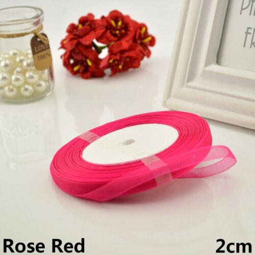 Belt DIY Crafts Satin Ribbon Wedding Decoration Fabric Silk Rope Gift Wrapping