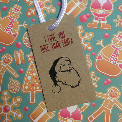 Honest Christmas Gift Tag Set - fun quirky gift tags