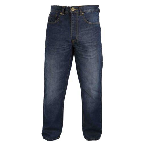 Homme Tapered Fit Jeans par Raphael Valencino coutures contrastées Délavé Design