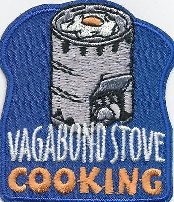 Boy Girl cub VAGABOND STOVE cooking Can Fun Patches Crests Badges GUIDES SCOUT