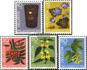 Schweiz-1062-1066-kompl-Ausg-gestempelt-1975-Pro-Juventute