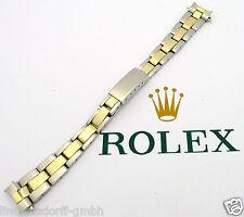 ROLEX OYSTER STAHL/GOLD DAMEN ARMBAND - Ref. 7834-13 - Bandanstoß 13 mm