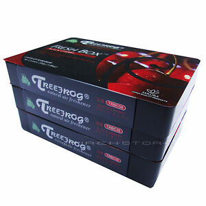 3 pack treefrog fresh box xtreme fresh black cherry. Black Bedroom Furniture Sets. Home Design Ideas