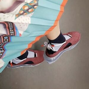 Nike Air Max Ff 720 Women S Shoes Size 7 Style Ao3189 600 Night Maroon Ebay