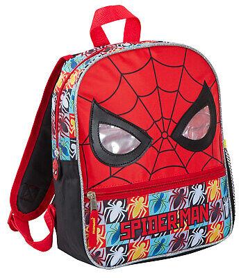 Affidabile Marvel Spiderman Zaino 3d Perspex Occhi Viaggio Scuola Zaino Borsa Pranzo Per Ragazzi-mostra Il Titolo Originale Sapore Puro E Delicato