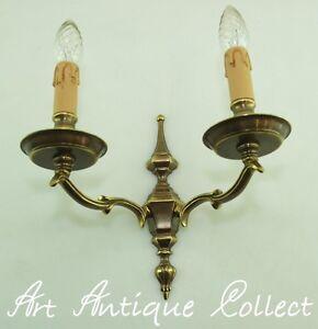 ANTIQUE applique murale en laiton style baroque LED LAMPE MUR ...