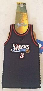 NBA-Philadelphia-76ers-Basketball-Allen-Iverson-Bottle-Jersey-Koozie-NEW