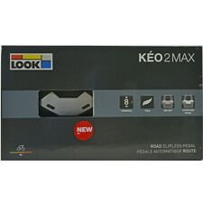 2018 LOOK KEO 2 Max CARBON Road Cycling Pedals /& Gray Grip Cleats//Bolts