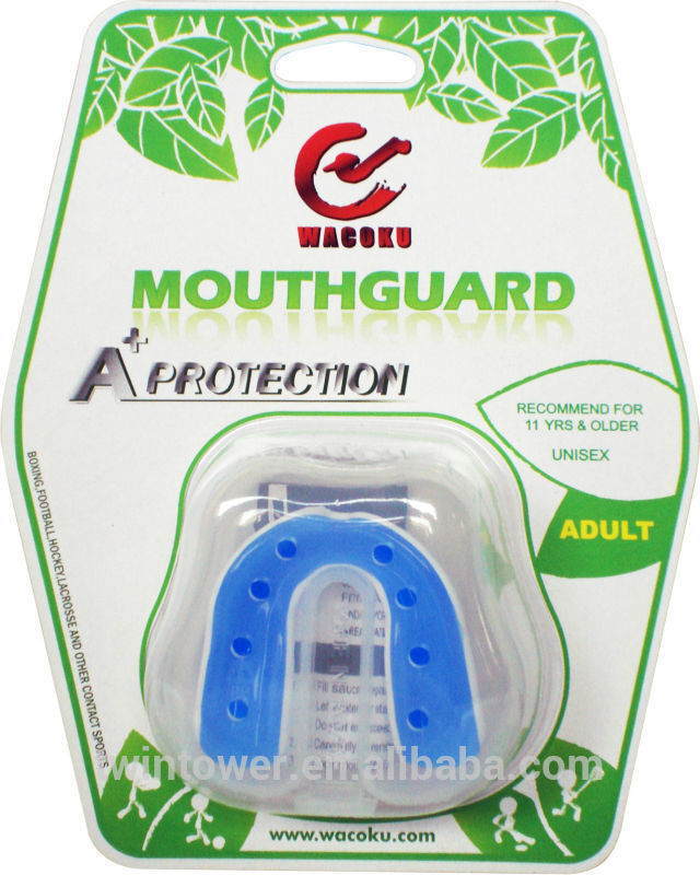 "ADii /""PLATINUM/"" Gel-Tec Boxing Mouth GuardGum ShieldMouth Piece w//Case"