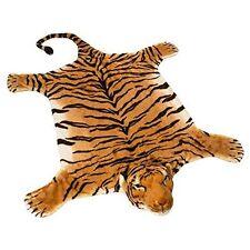 BRUBAKER Huge Brown Tiger Rug 78x47 Inch