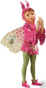 Flower-Fairy-Knabenkraut-Serie-18-Deko-Figur-Elfe-Fee-Blumenkind-NEU