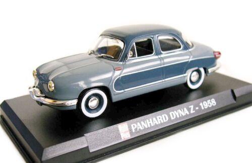 EN BOITE VITRINE IXO 1//43 PANHARD DYNA Z 1958