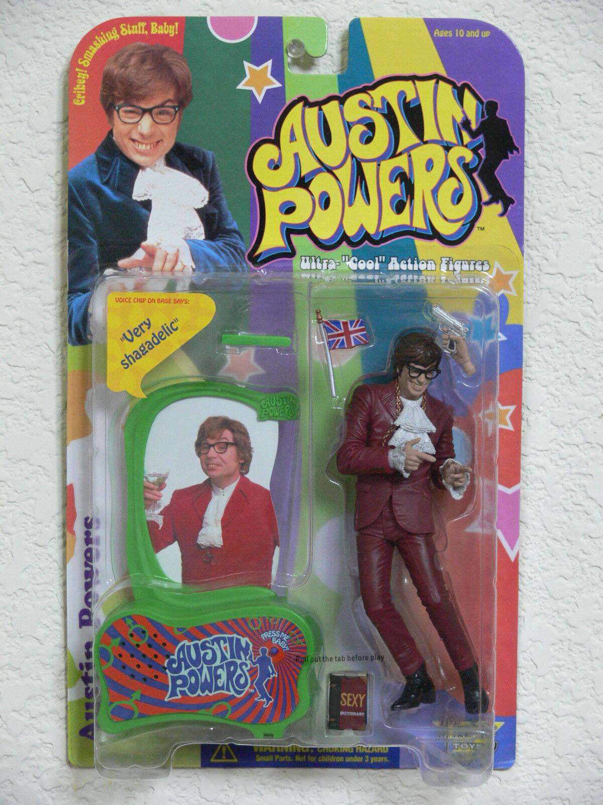 Austin Powers Action Figures Mini-Me Fat Man Austin  Danger  Powers Dr. Evil NEW