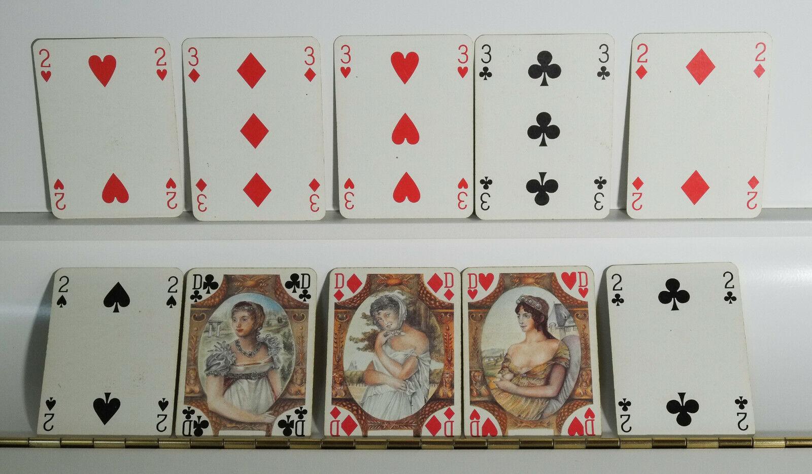 Jeux de carte, époque Napoléon III