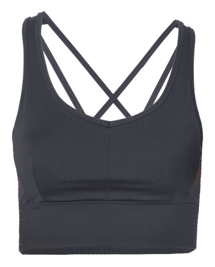 Yoga-bra-top  radha  - - - Anthracite Schwarz von Kismet Yogastyle 0ba6ed