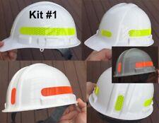 Reflective Hard Hat Decals Kit 1 Tape Oralite V98 Orafol Prismatic 7 Colors Usa