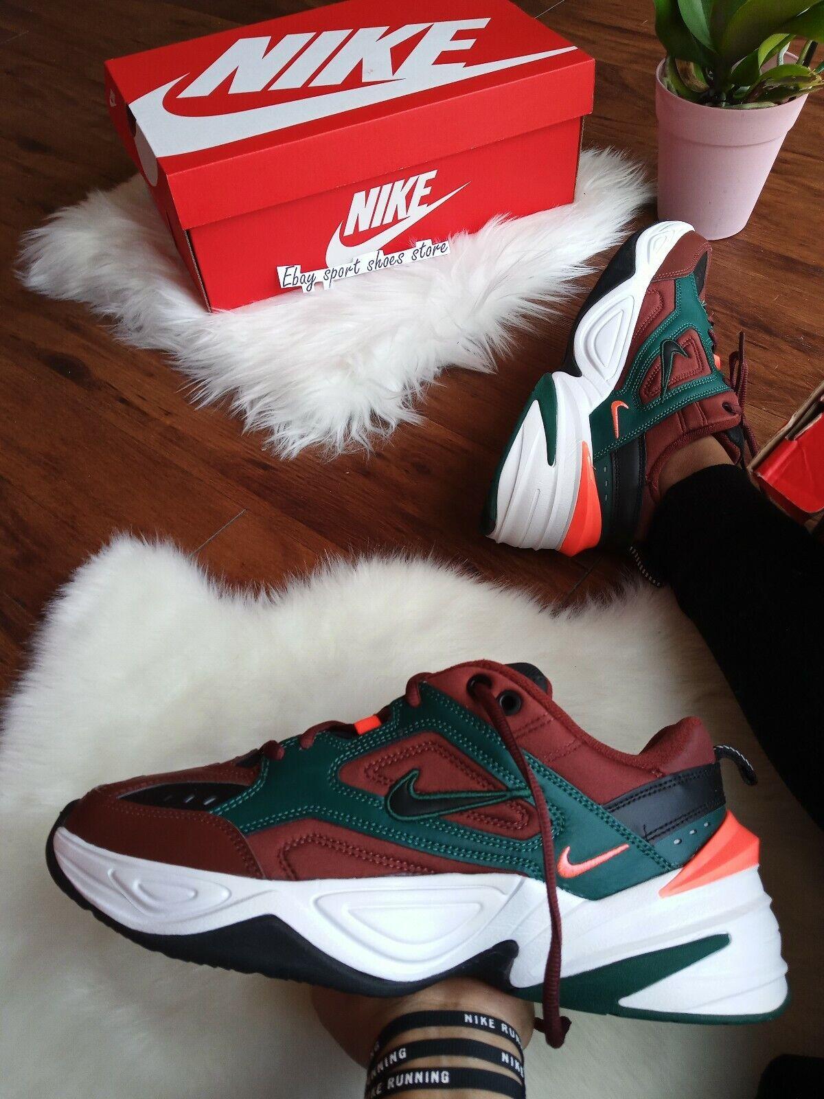 Size 8 Men's  Nike M2K Tekno Athletic Fashion Sneakers AV4789 200 PUEBLO BROWN