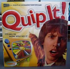 QUIP IT DVD GAME NEW FACTORY SEALED ITS ALL IN HOW YOU SEE IT 2005 SCREEN LIFE