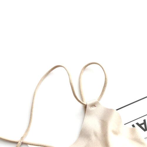 Details about  /Damen Seamless BHs Unterwäsche BH Push Up Bralette Wire Free Strap Bras#RSH5
