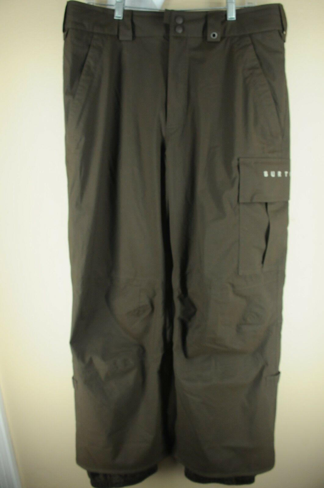 Burton Brown Winter Sports Waterproof Ski Snow Boarding Pants M Medium 36 x 31