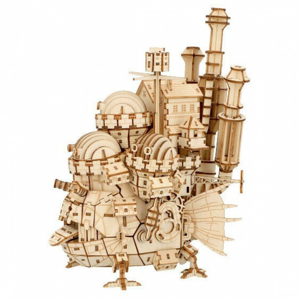 Studio Ghibli Howl/'s Moving Castle ki-gu-mi Howl/'s Castle Japan import NEW