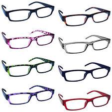 Reading Glasses Mens Womens Lightweight Designer Style UV Reader UVR32