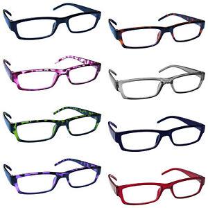 Reading-Glasses-Mens-Womens-Lightweight-Designer-Style-UV-Reader-UVR32