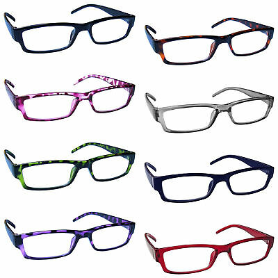 c9f5c1d69fb Reading Glasses Mens Womens Lightweight Designer Style UV Reader UVR32