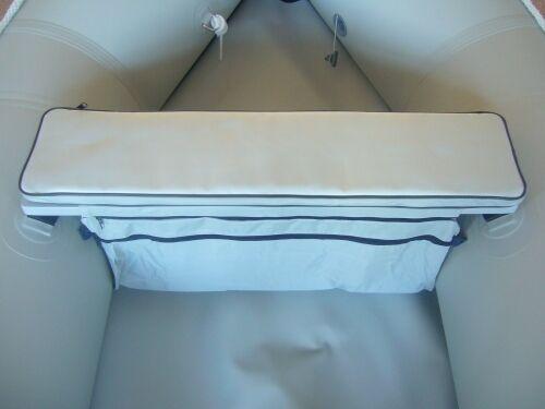Schlauchboot Sitzauflage mit Tasche Seatbag 80 x 20  in diversen Größen