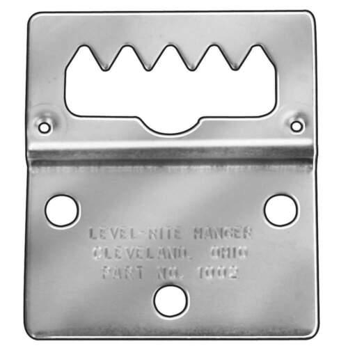 GRAINGER APPROVED 1002 Hanger,3 Hole Adj,2 W x2 1//4 L,Pk2