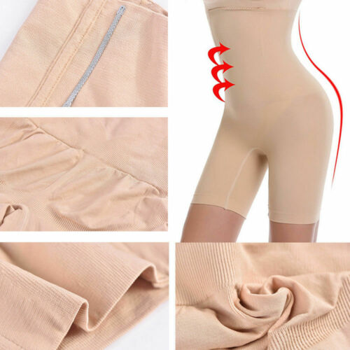 Lady Belly Control Seamless Shorts Lift-hip Thigh and Tummy Control Body Shaper