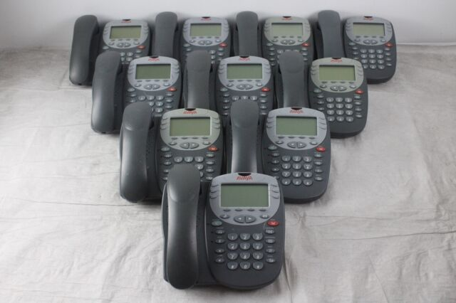 10 Avaya 5402 Digital IP//VoIP Phones for Business or Office Set of