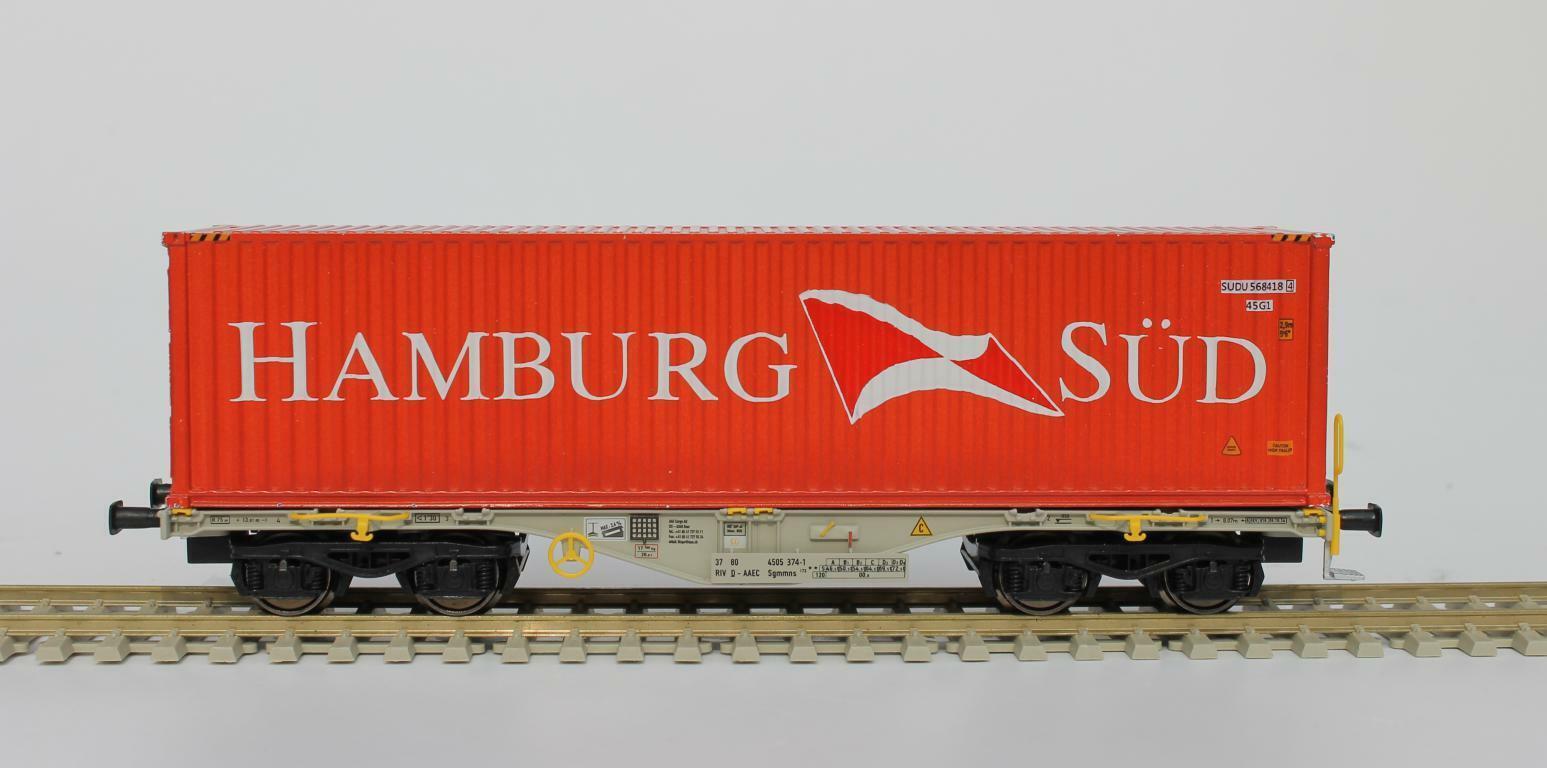 hasta un 65% de descuento Rocky Rail 40132 40132 40132 H0 Sgmmns 40 n40 ft HC Contenedor Hamburgo Sur Dc  Todo en alta calidad y bajo precio.