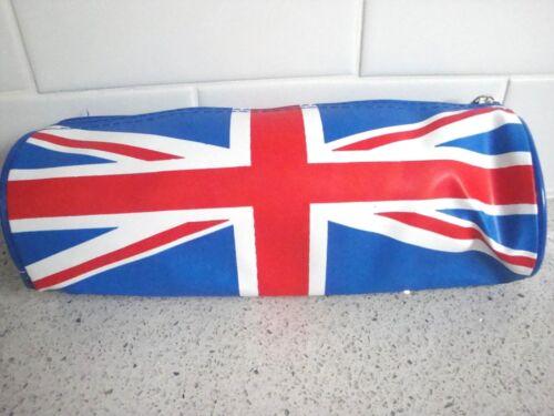 England school NEW punk bag purse UK Flag pencil case Union Jack U.K