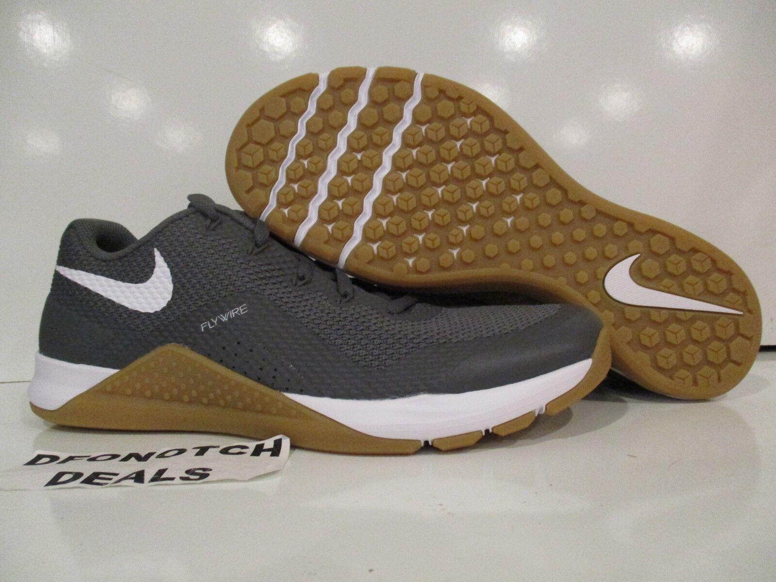 Nike Metcon Repper DSX Crossfit Training shoes Sz 10 Grey White Gum 898048-009